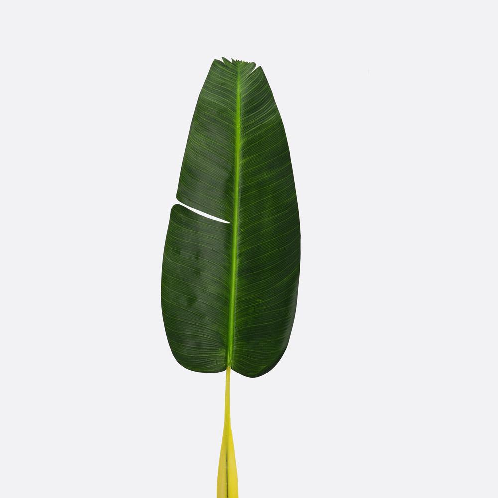 Folha artificial bananeira GREEN