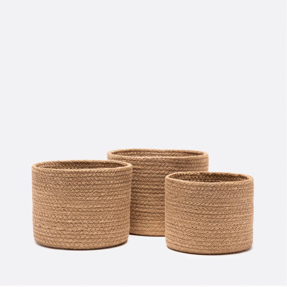 Conjunto de 3 cestos ACSA