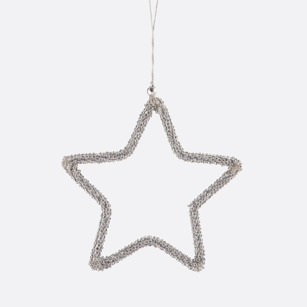 Enfeite de natal estrela SHINE