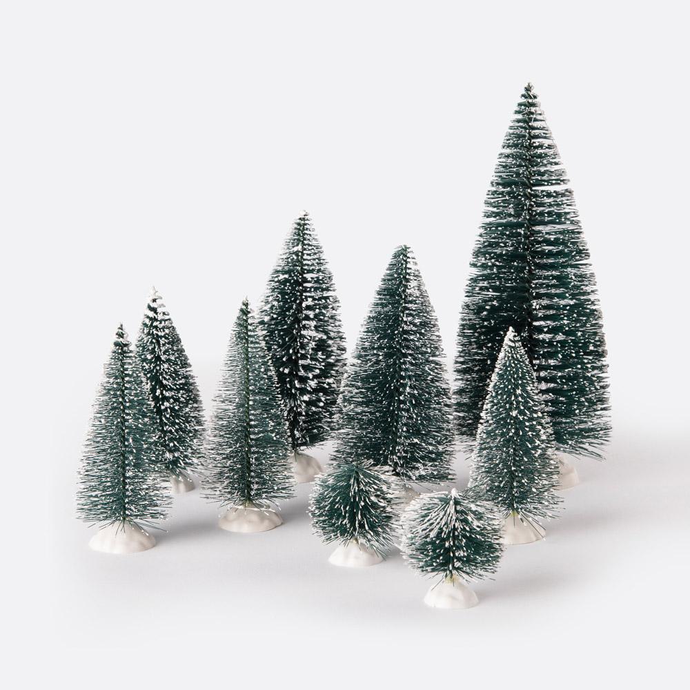 Conjunto 9 pinheiros de natal PINE