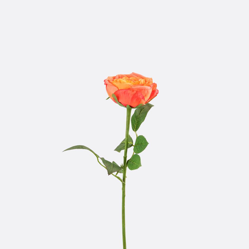 Flor artificial rosa CECILIA