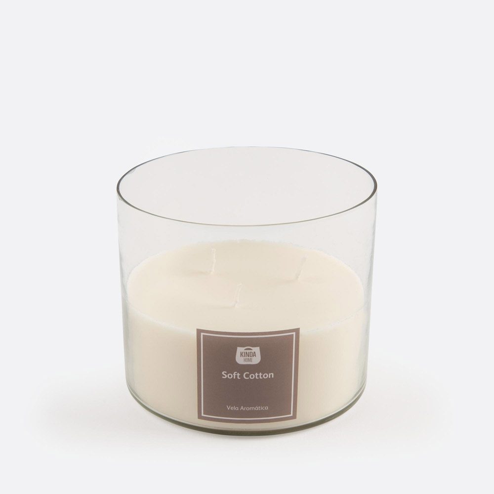 Vela aromática SOFT COTTO