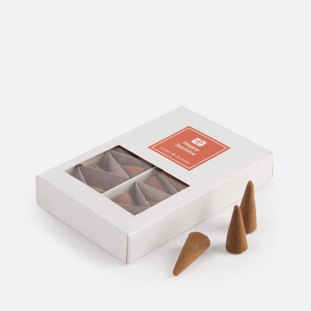 Caixa 20 cones de incenso HAPPY JASM