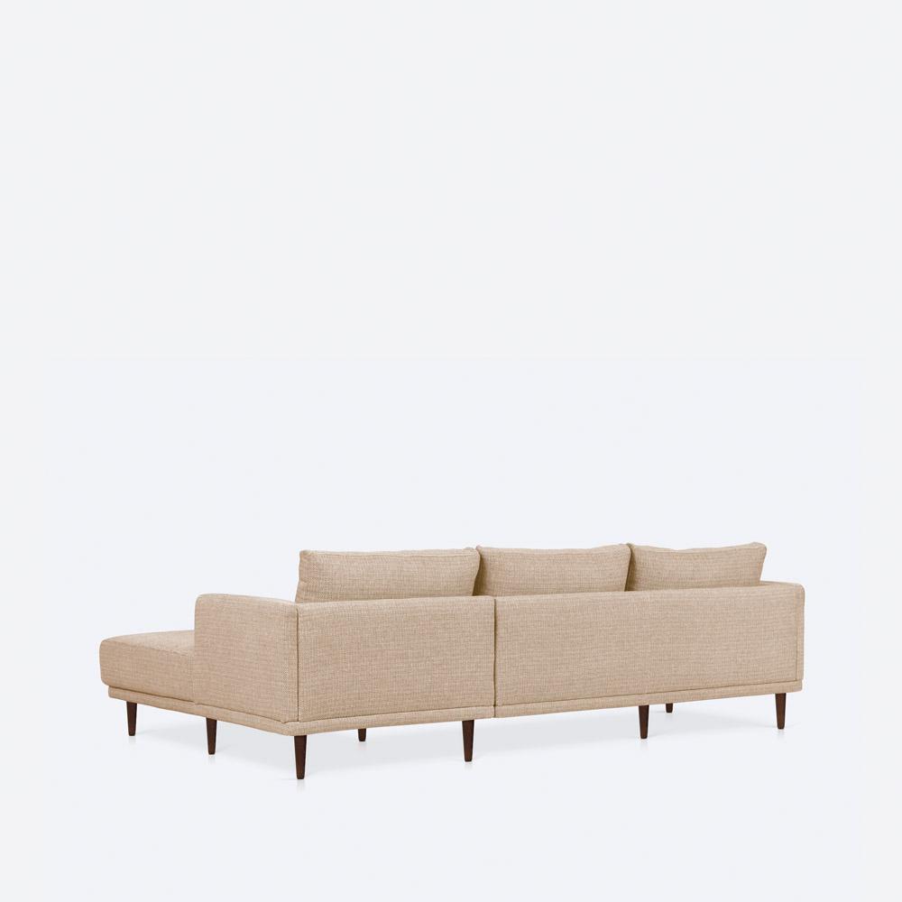 Sofa chaise-longue direita BARTOLOMEU
