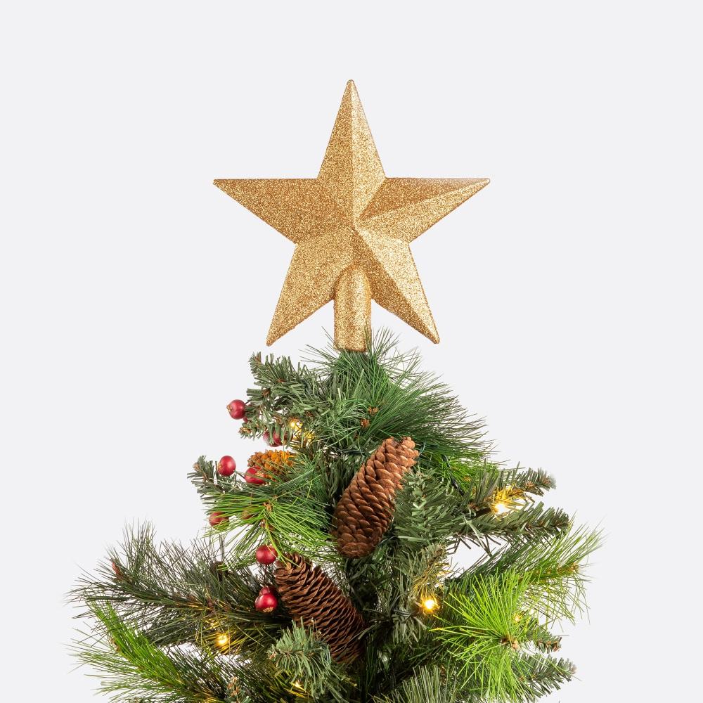 Enfeite de natal estrela TREETOP