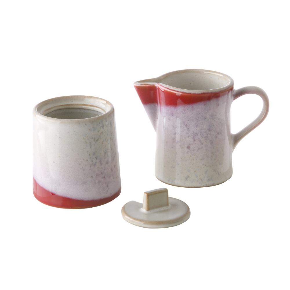 Conjunto de leiteira e açucareiro TRENDY