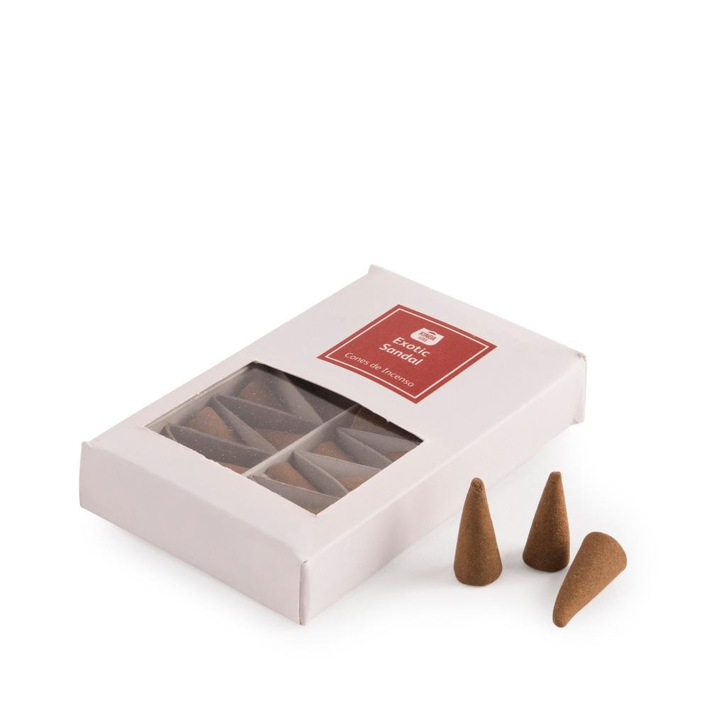 Caixa 20 cones de incenso EXOTIC SANDAL